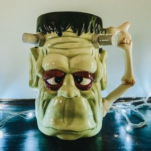 Vintage Frankenstein Beer Stein / Mug / Planter
